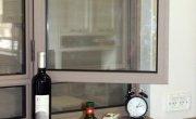 חלון ציר עם חלק תחתון קבוע (מעט נמוך מידי). צילום: פנחס בר חי